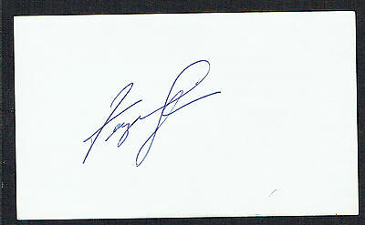 Fergie Jenkins signed autograph auto 3x5 index card Baseball Player E1711