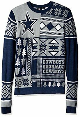 best sneakers 226c2 17d26 DALLAS COWBOYS NFL Football Ugly Holiday Snowman Sweater ...