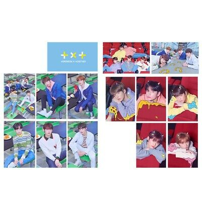 14 Pcs/ Set KPOP TXT The Dream Chapter:STAR HD Photocard Crystal Card Stickers