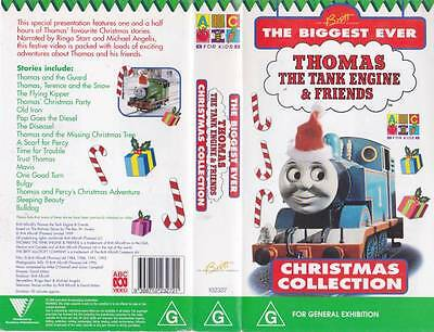 Thomas The Tank Engine Christmas Collection Vhs Video Pal~ A Rare Find