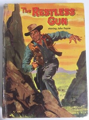The Restless Gun By Barlow Meyers HC 1959 1st Edition Vintage Mystery