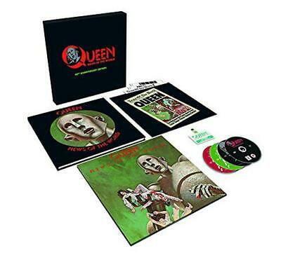 News Of The World ( 40th Anniversary Edition ),Queen,Audio CD,Nuevo,Free & Fast