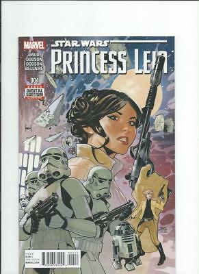 Marvel Comics Star Wars Princess Leia 4 NM-/M 2015