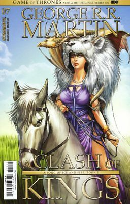 Game Of Thrones Clash Of Kings #7 Copertura a Fumetto 2018 - Dynamite