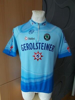 Nalini Gerolsteiner Specialized Giro Tour Cycling Shirt Jersey Vintage  Maglia d1adb3c1e