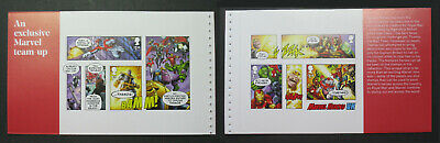DY29 2019 MARVEL STITCHED  SUPER HEROES M/SHEET BOOKLET Panes