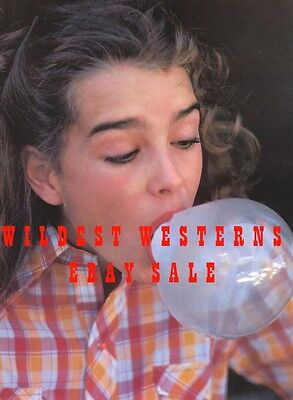 BROOKE SHIELDS blowing bubble gum PhOtO Young Hollywood Days PRETTY BABY Cute