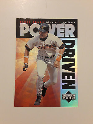Barry Bonds 1996 Upper Deck Power Driven # 2