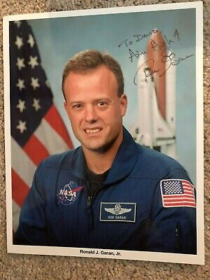 Ron Ronald Garan Nasa Space Shuttle Astronaut Autograph Signed Litho Photo