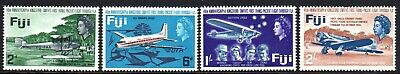1968 FIJI 40th ANNIVERSARY KINGSFORD SMITH'S PACIFIC FLIGHT SG367-370 muh