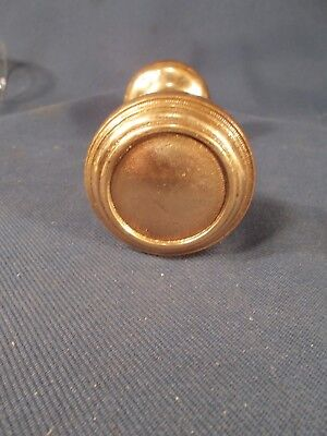 VTG BRASS DOOR KNOBS EASTLAKE VICTORIAN DESIGN One pair of Matched Knobs c1890s