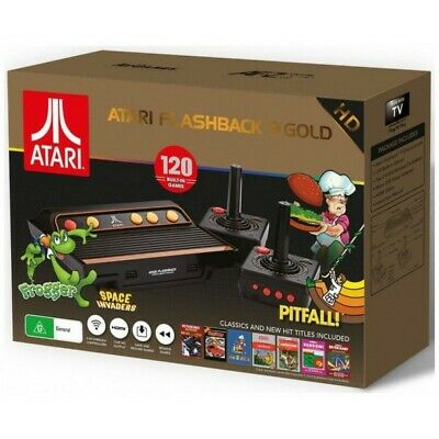 Atari 2600 - Flashback 9 gold Classic Game HD console + 120 games NEW & BOXED