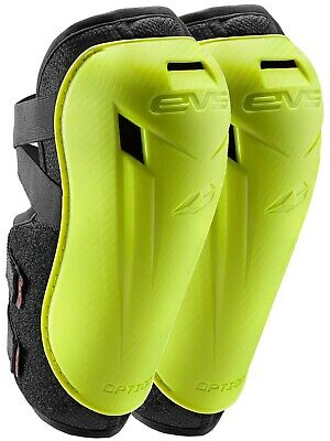 EVS Hi Viz Yellow 2018 Option Pair of Kids MX Elbow Guard