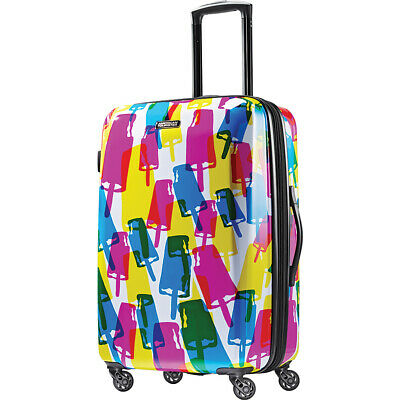 "American Tourister Moonlight 24"" Expandable Hardside Hardside Checked NEW"