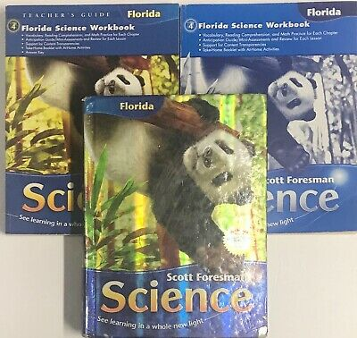GRADE 4 SCOTT Foresman Science Curriculum Workbooks Homeschool 4th Bundle