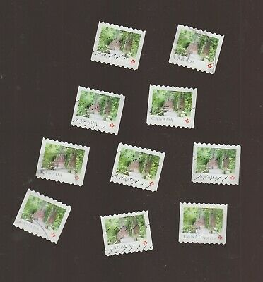 Canada 2018 Landscapes Mac Millan   10   Used Stamps from COIL