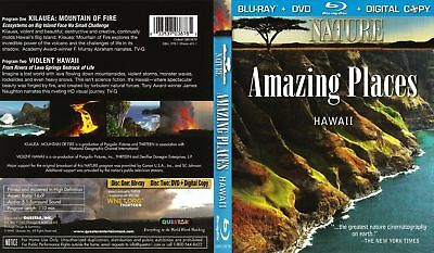 Nature: Amazing Places: Hawaii (Blu-ray/DVD, 2010, 2-Disc Set, Includes Digital