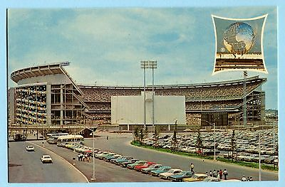50 SHEA STADIUM  POSTCARDS  Orig 1964 New York World's Fair Series POSTCARDS NOS