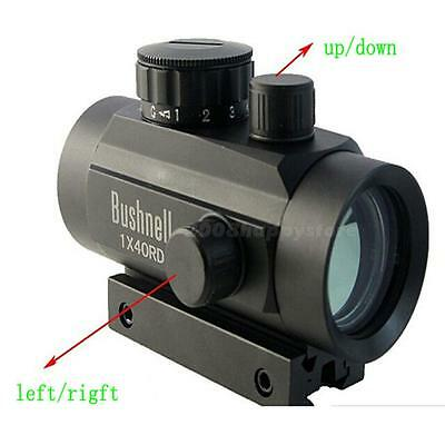 1pcs Red/Green Dot Holographic Tactical Laser Sight Scope Rifle Picatinny Mount