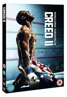 CREED II (2 2018): Rocky sequel, Sylvester Stallone - NEW Eu Rg2 DVD not US