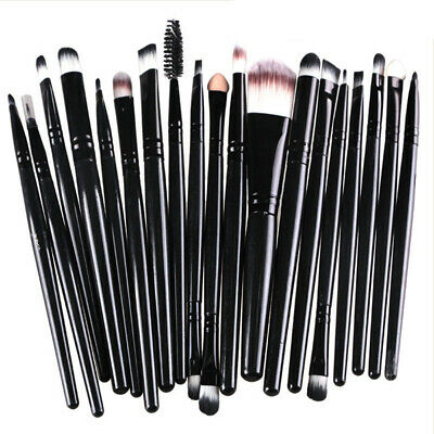 20PCS Makeup Brushes Set Foundation Blush Face Powder Eye Shadow Brush