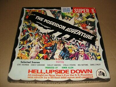 ( The Poseidon Adventure ) Super 8 Film 400' COLOR & SOUND