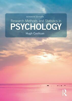 Research Methods and Statistics in Psychology - Hugh Coolican - 9781138708969