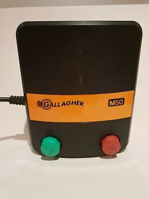 Gallagher M50 5km Electric Fence Energiser Mains Power