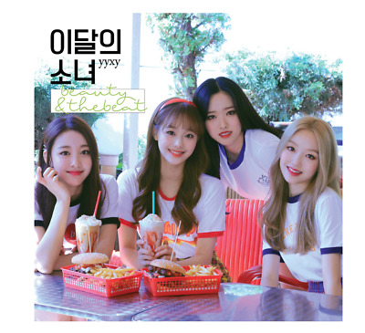 "MONTHLY GIRL LOONA YYXY Album ""BEAUTY&THEBEAT"" - 1 Photobook + 1 CD / Free Ship"