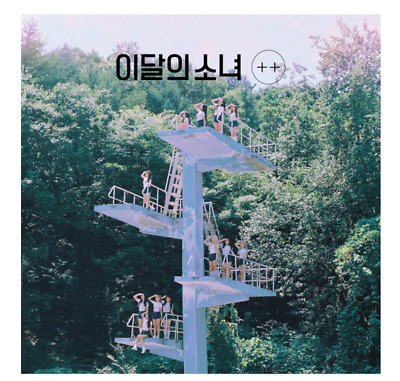 "K-POP MONTHLY GIRL LOONA 1st Mini Album ""+ +"" - 1 Photobook + 1 CD / B Ver"