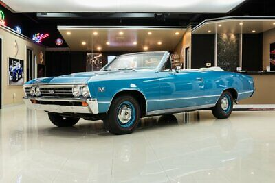 1967 Chevrolet Chevelle SS Convertible Frame Off, Rotisserie Restored SS! Numbers Matching, 396ci V8, Automatic, PS, PB