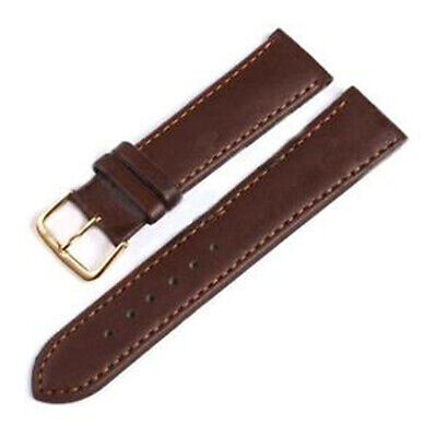 Vintage Leather strap pin buckle waterproof and sweatproof watch band