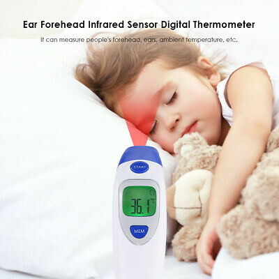 Baby Infrared Ear Forehead Digital Thermometer Fever Alert Temperature Meter Hot