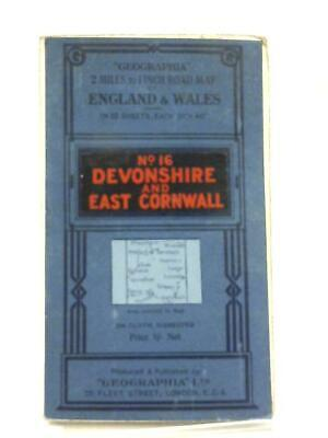 Geographia 2 Miles to 1 Inch Road Map of England & Wale (Anon - 1111) (ID:28592)