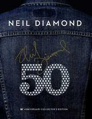 50th Anniversary Collector's Edition, Neil Diamond, Audio CD, New, FREE & Fast D