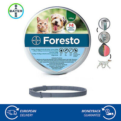 Flea & Tick Collar for Small Dogs and Cats Under 18 lbs (8kg)