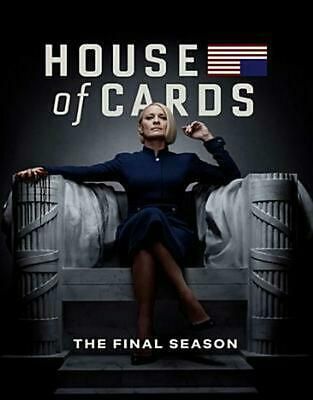 House of Cards: the Complete Sixth and Final Season - Blu-Ray Region 1 Free Ship