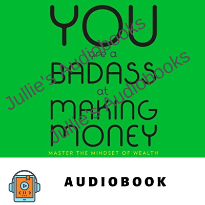 AudioBook You Are a Badass at Making Money - Master the Mindset of Wealth Mp3