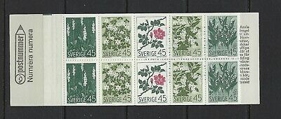 Sweden Scott 786a Complete Booklet Scott $ 11.00