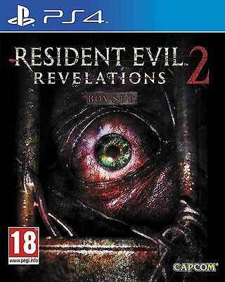 Resident Evil Revelations 2 PS4 BRAND NEW Game for Sony PlayStation 4