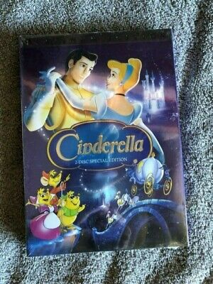 Cinderella (DVD, 2005) Platinum Edition New Sealed & Free Shipping!