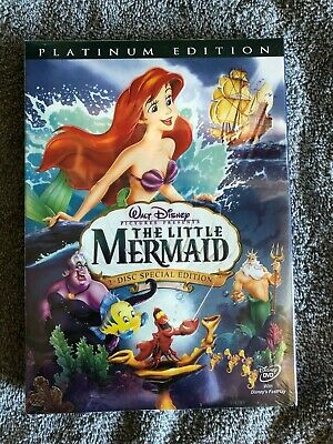 The Little Mermaid (DVD, 2006) Platinum Edition New Sealed & Free Shipping!