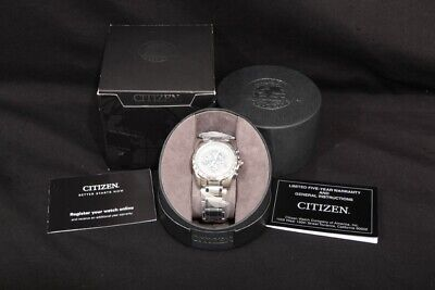 Citizen Eco-Drive Exclusive Men's Casual Dress Watch AT4000-53B in Box