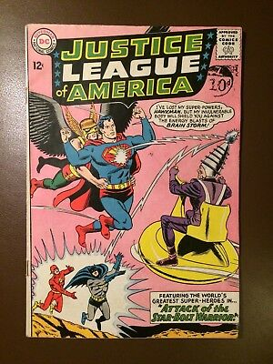 DC comics :  JUSTICE LEAGUE OF AMERICA # 32 ,1964,  FN condition