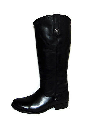 1022020cf1e FRYE MELISSA BUTTON Back Zip Dark Brown Size  6M New With Box ...