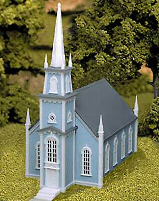 Atlas HO Scale Model Railroad Building Kit 19th Century American Church