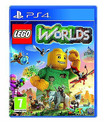 Lego Worlds PS4 - Kids Game for Sony PlayStation 4 BRAND NEW & SEALED World UK
