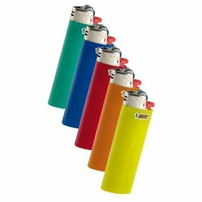 BIC Classic Lighters Cigar Cigarette Maxi Full Lighter Size, 10 Piece