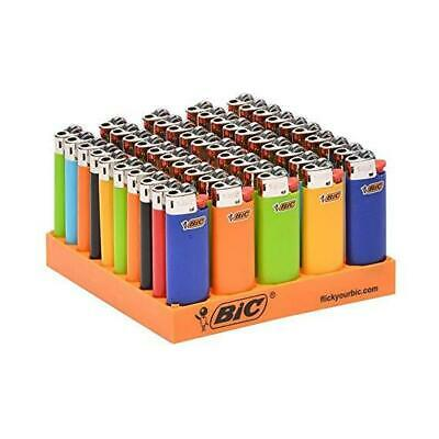 BIC mini Classic Lighter, Assorted Colors, 50-Count Tray created
