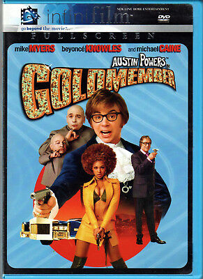 AUSTIN POWERS in GOLDMEMBER The MOVIE on a DVD with BEYONCE KNOWLES & MIKE MYERS